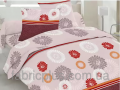 Tailoring of bed linen from fabric: Printed sheeting fabric of Sh-of 220 cm of SOLO