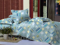 Tailoring of bed linen from fabric: Printed sheeting fabric of Sh-of 220 cm of SHARM