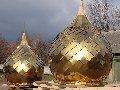 Услуги по изготовлению куполов, крестов, подкрестных шаров.