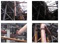 Монтаж трубопроводов футерованых базальтом