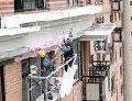 Работы ремонтно-строительные методом промышленного альпинизма