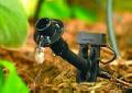 Services in design and installation of irrigation systems and watering