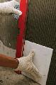 Работы по укладке плиток