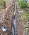 Прокладка сетей канализации