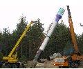 Монтаж (установка) водонапорной башни Рожновского. Утепление водонапорных башен