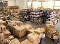Services of open warehouse areas