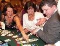 Выездное фан-казино. Аренда столов казино для организации зоны фан-казино на празднике, корпоративе, юбилее, свадьбе.