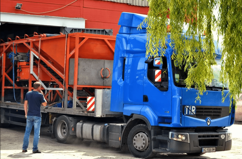 "International Factory Of Concrete Equipment - ""Monolit"" Group"