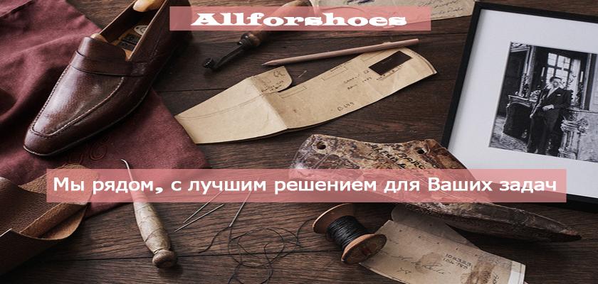 Все для производства обуви, Интернет-магазин