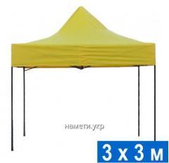 Раздвижной шатер 3х3 м усиленный каркас