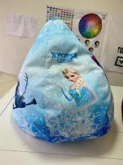 Кресло груша мешок Холодное сердце для девочки